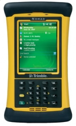 Odbiornik GPS Trimble Nomad 900GL, Bluetooth, WiFi, 6GB Flash